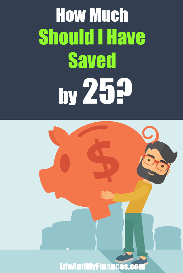 How much should I have saved by 25? It's a common question. Here's the answer!