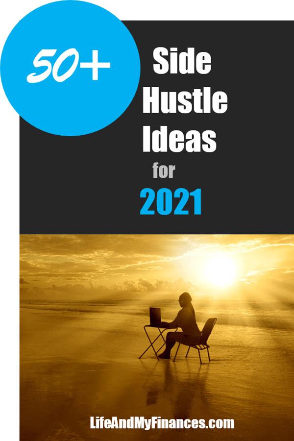 50 Side Hustle Ideas - pin