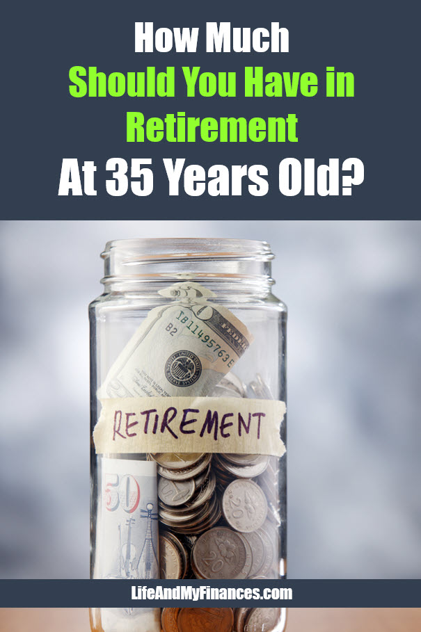 How much should you have in retirement at age 35
