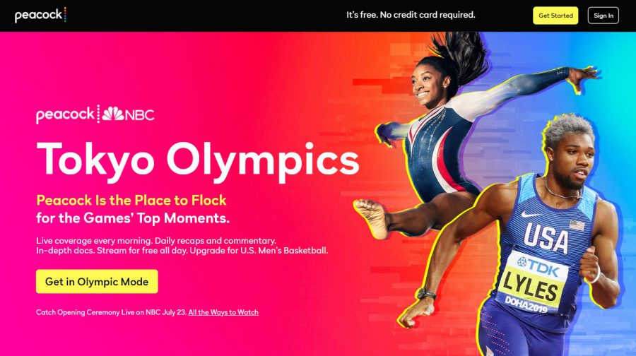 Peacock - watch the 2021 Olympics for free