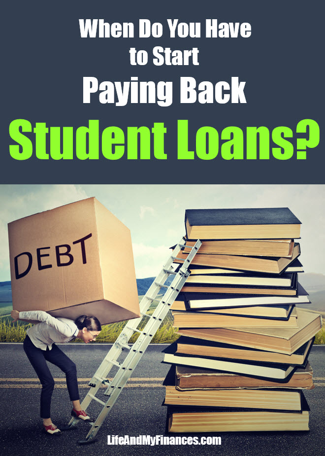 How soon do you need to start paying on student loans
