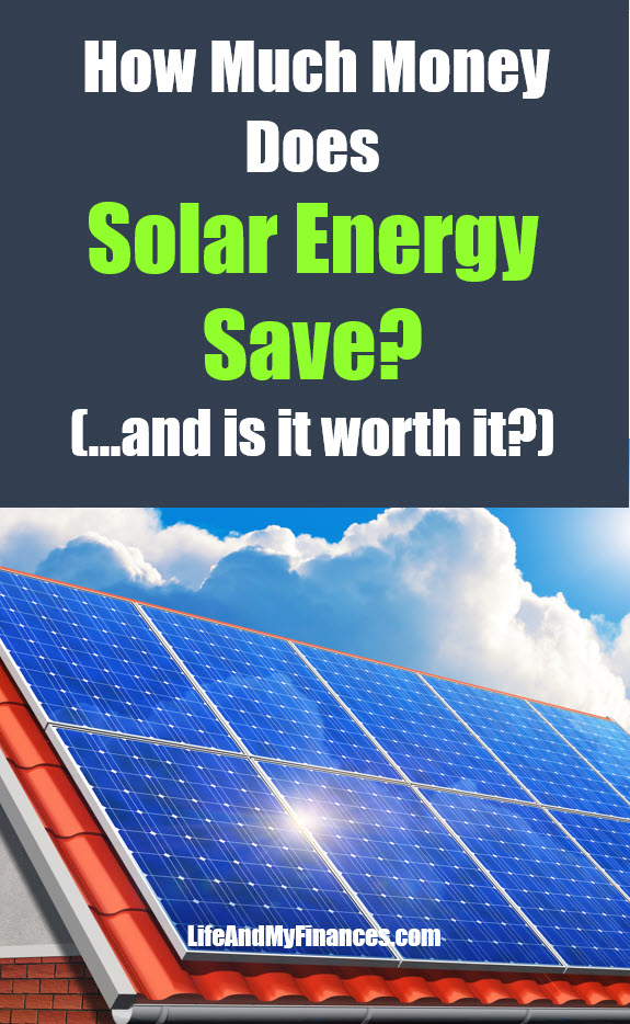 What is the return on solar energy? Is it worth it?