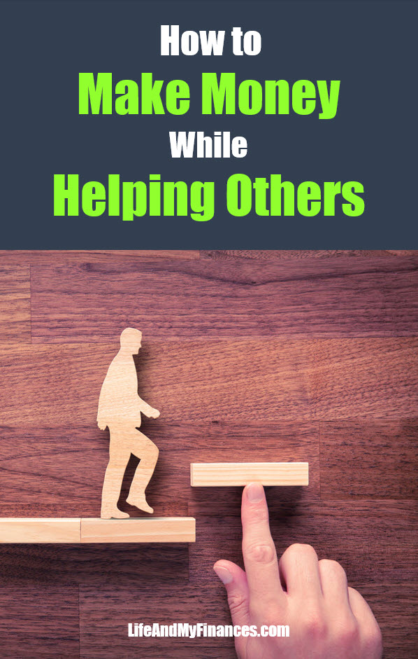 How to earn money helping others