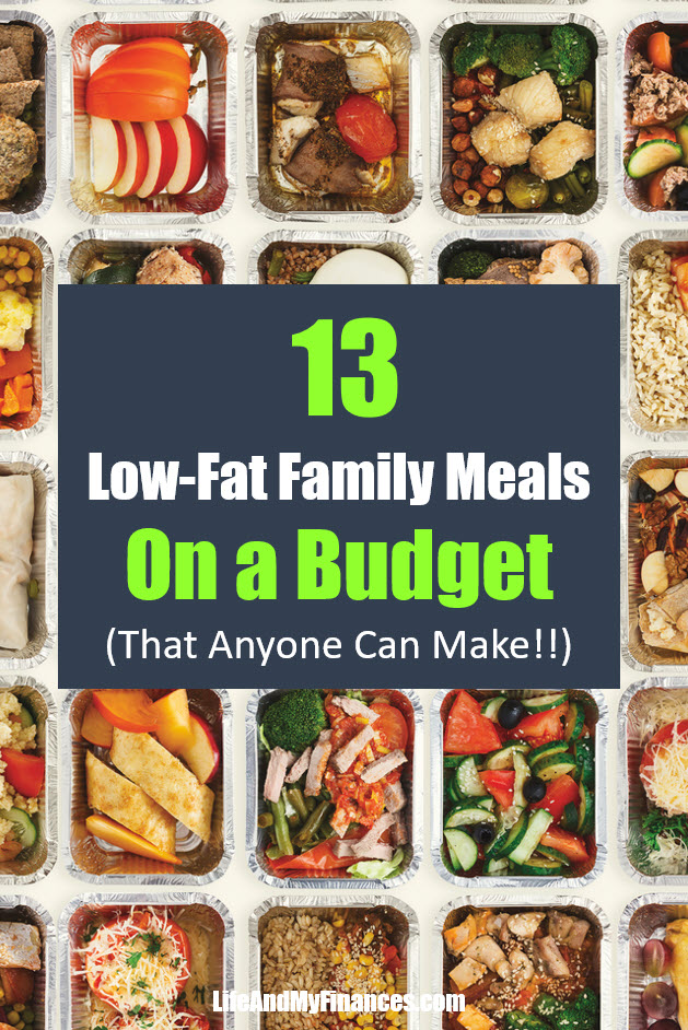 Low fat family meals that are easy and cheap!