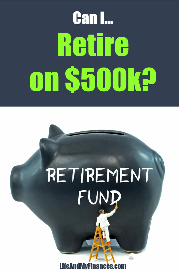 Can you retire on 500k dollars with social security?