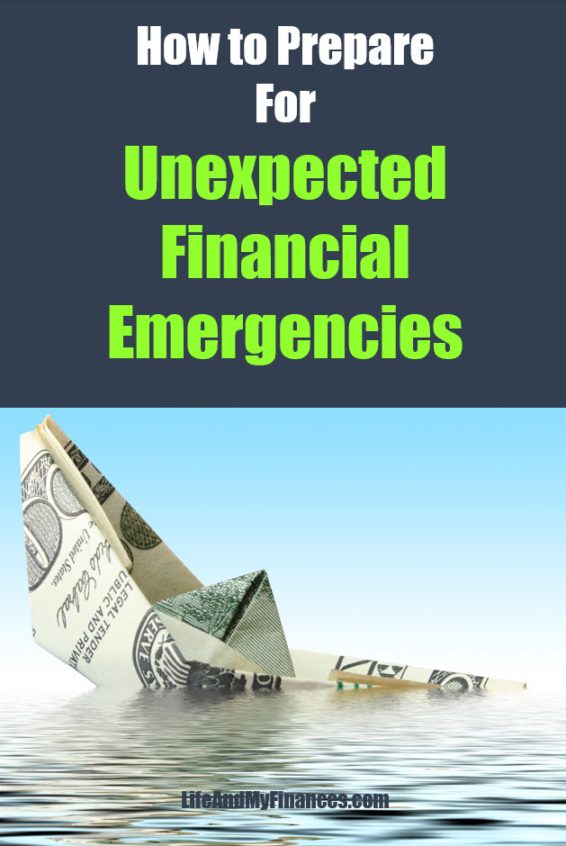 Prepare for unexpected financial emergencies